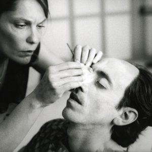 Foto dal set di AsinoVola con Marcello Fonte
